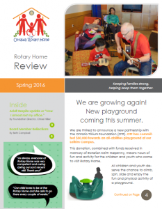 ORH Spring Newsletter